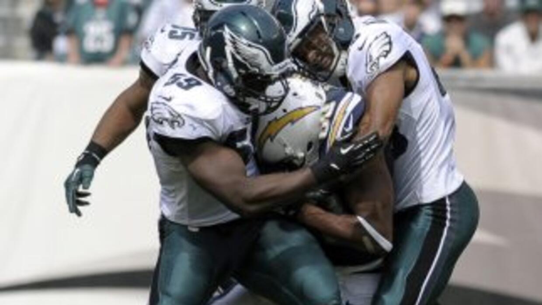 Malcom Floyd se lesionó contra los Eagles (AP-NFL).