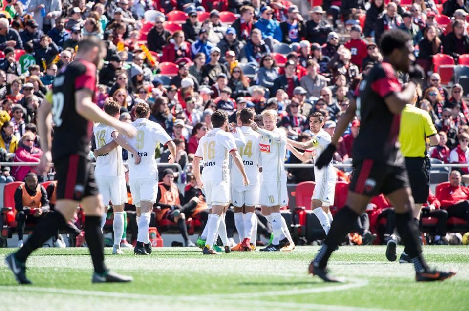 Daniel Ríos: en la visita del North Carolina F.C. al Ottawa Fury, el del...