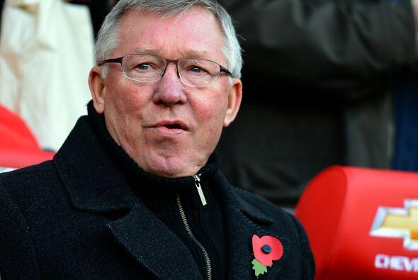 Este Once ideal es dirigido por el entrenador escocés Sir Alex Ferguson,...
