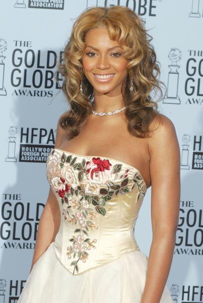 Mientras que otras como Beyoncé, tomaron un vestido de XV a&ntild...