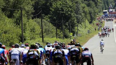 En fotos: el irlandés Daniel Martin gana la sexta etapa del Tour de Francia