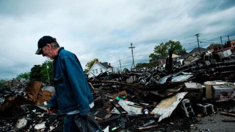 Una imagen del estado de West Virginia, una de aquellas zonas de EEUU aq...