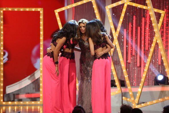 Las chicas de Alicia tenían que decidir quién de las otras...