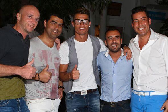 "Cristiano Ronaldo dijo ""bye, bye"" al Mundial con una pobre act..."