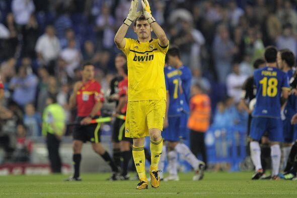 Iker Casillas y compañía festejaban.