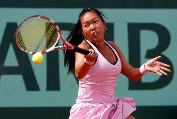 La novena de la clasificación, Petra Kvitova, derrotó a la estadounidens...