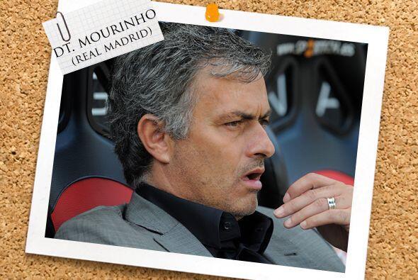 Nuestro equipo es dirigido por el portugués José Mourinho, que esta jorn...