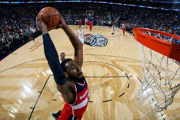 5 de Enero - Wizards (23-11) ganan 92 - 85 a Pelicans (17-17). John Wall...