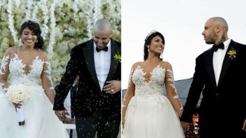 Así actuaron varios latinos en la boda de Nicky Jam