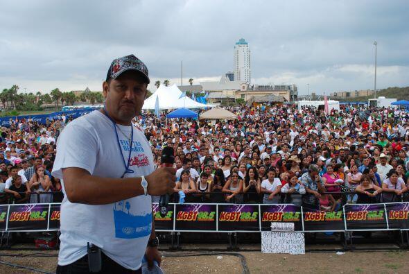 Nuestros DJs prendieron el evento con sus intervenciones.