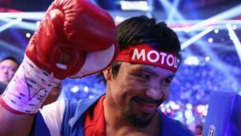 Manny Pacquiao podría decir adiós en el 2016.