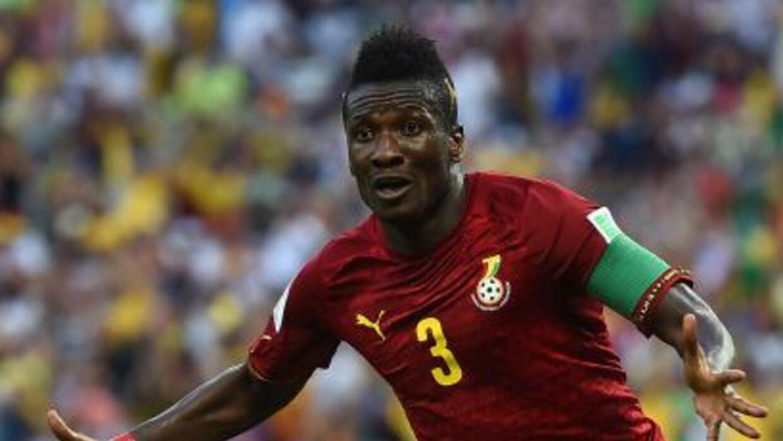 El capitán de la selecicón de Ghana se contagió de malaría.