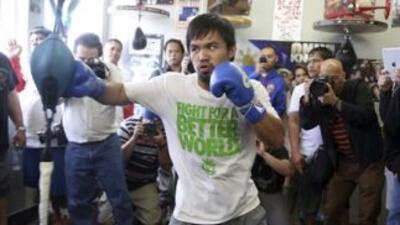 Manny Pacquiao entrenará boxeo y vigilará prácticas de su equipo de básq...