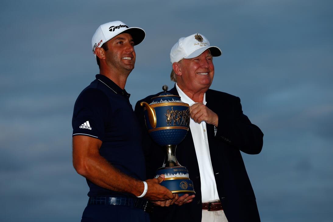 Los amigos de Donald Trump en el golf internacional gettyimages-46562680...