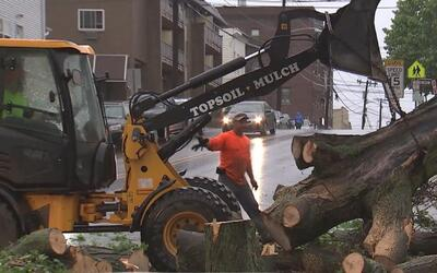 Nueva Jersey tampoco se salva de los daños ocasionados por la tormenta