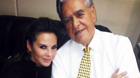 Eric del Castillo siempre muestra apoyo incondicional a su hija.