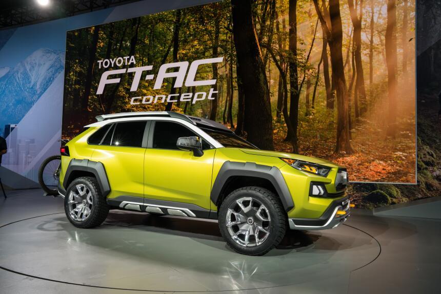 Toyota FT-AC Concepto
