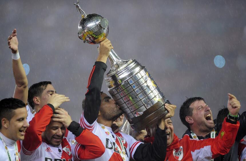 River Plate, nominado a equipo del año por ganar la Copa Libertadores