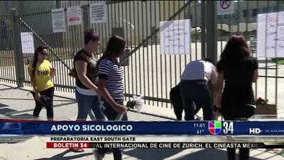 Escuela llora la muerte de estudiante apuñalada