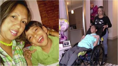 Joven venezolano con parálisis cerebral busca ayuda para conseguir una silla que mejore su vida