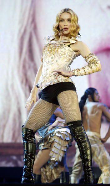 """La """"Reina del Pop"""" resultó ser como los buenos vinos, &..."""