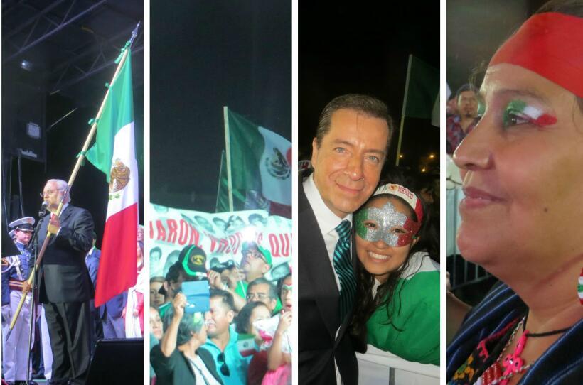 Este 15 de septiembre más de 12 mil personas gritaron Viva M&eacu...