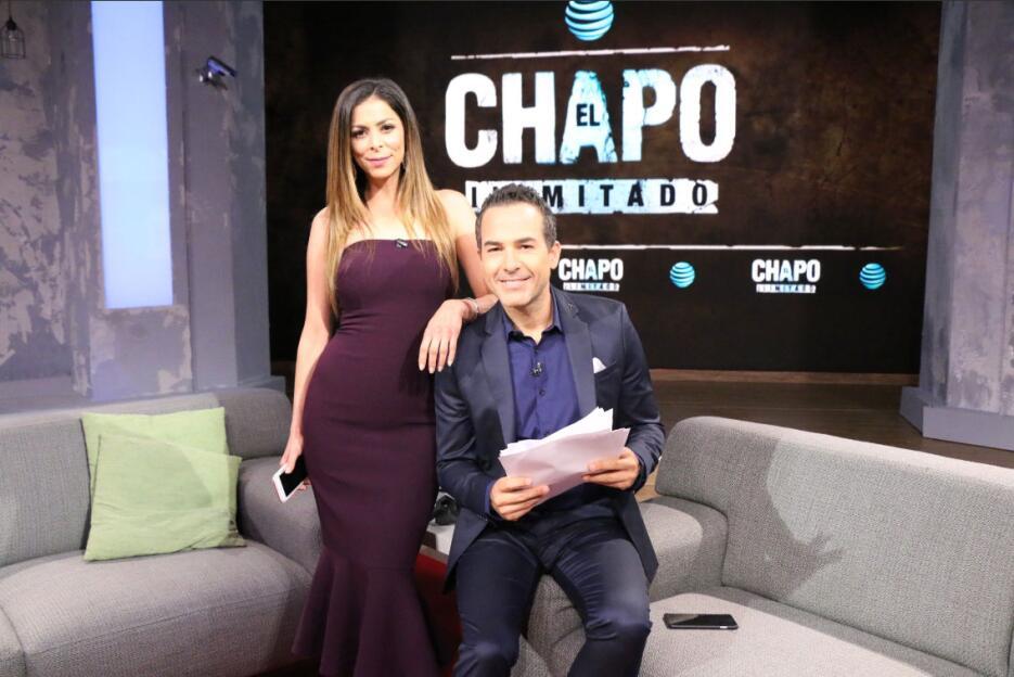 Lourdes Stephen y Carlos Calderón