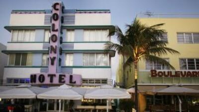 Ocean Drive, Miami Beach, Florida.