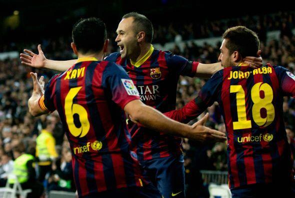 El jugador manchego recibió la pelota de parte de Lionel Messi y sin dud...