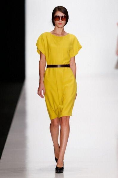 El amarillo será otro color en súper tendencia este 2014....