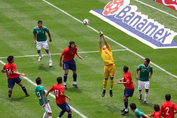 El último rival de despedida fue Chile previo al Mundial de Sudáfrica, y...