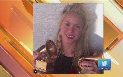 Shakira festejó y agradeció por sus Latin GRAMMY