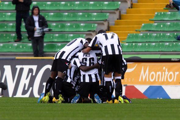 El encuentro acabaría 2-1 a favor del Udinese, al momento es líder la li...