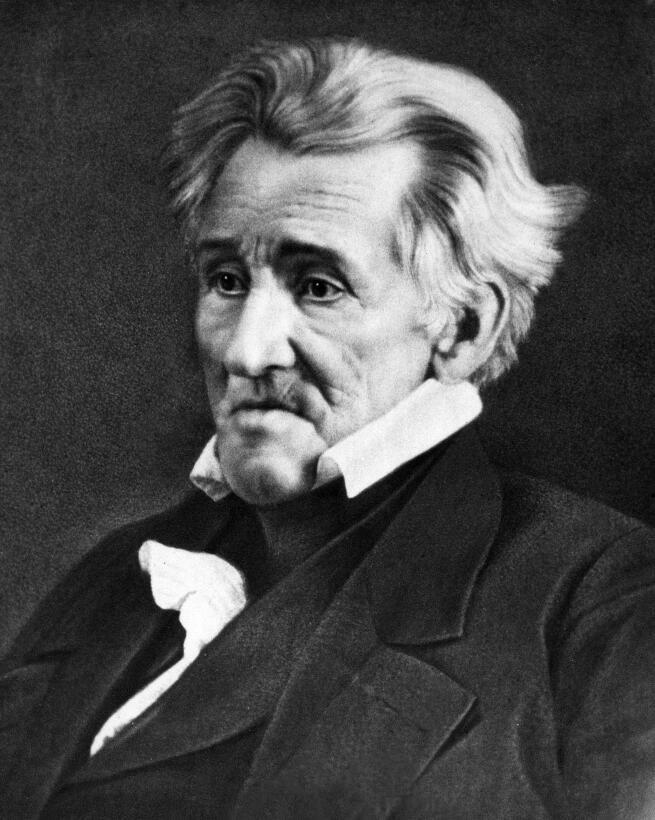 Unos hablan de una docena, pero otros dicen que Andrew Jackson (1767-184...