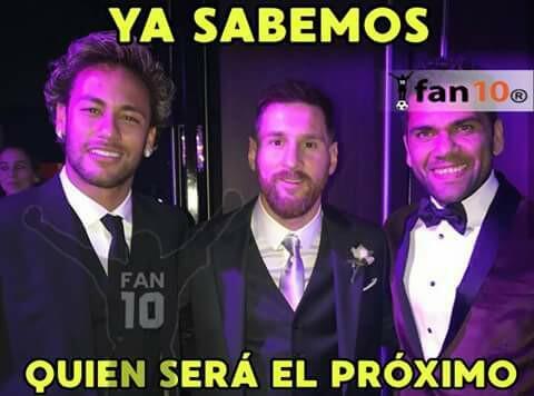 En memes: Neymar se inclina por los millones del PSG 20430116_1522823104...
