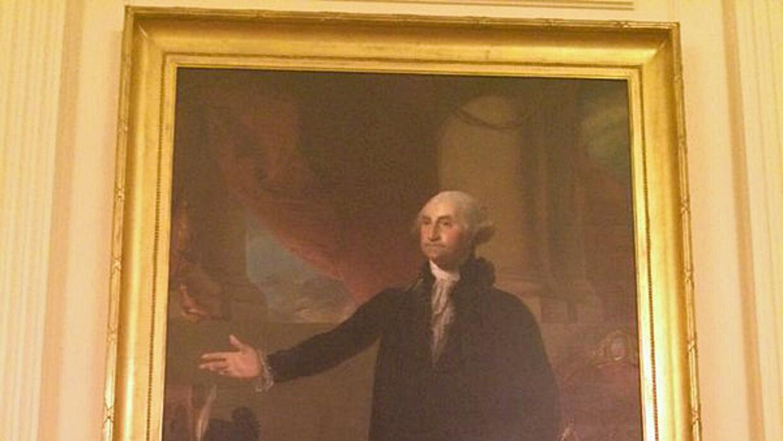 Oscar Vazquez en la Casa Blanca antes del informe del Estado de la Unión