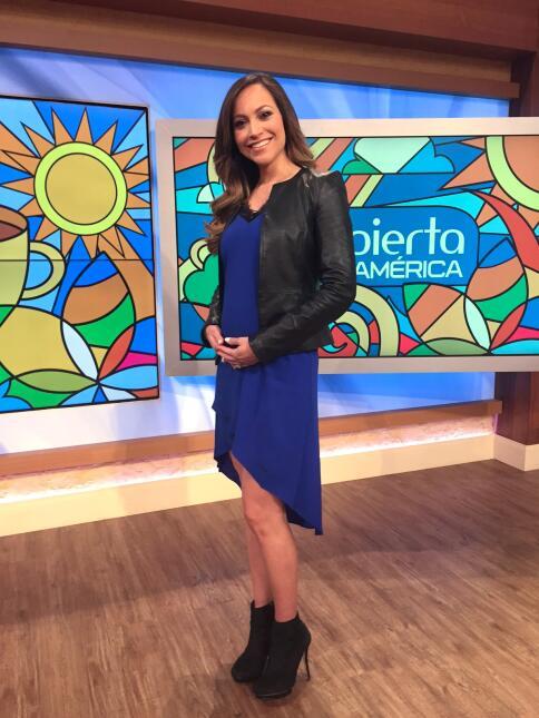 Satcha Pretto embarazo, Enero 18