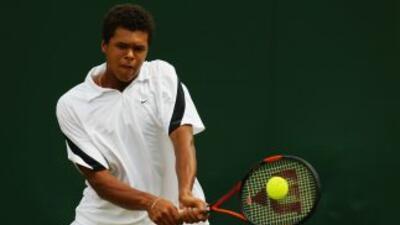 Tenista francés Jo Wilfried Tsonga