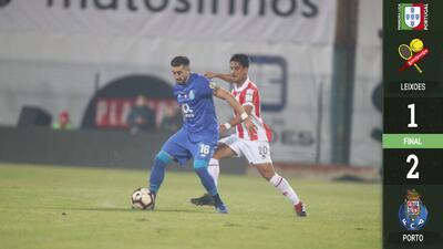 Con gol de Héctor Herrera y sufriendo Porto avanzó a Semifinales de Copa