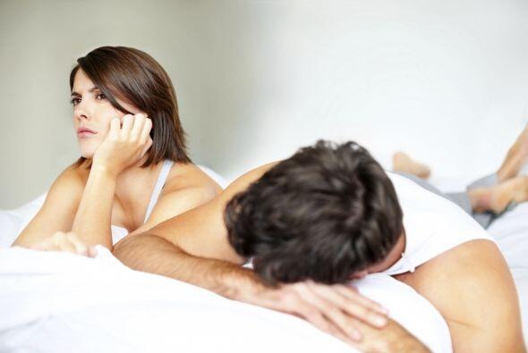 Cuando casi no hay acción en la vida íntima de una pareja, hay que busca...