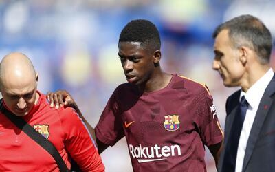 Ousmane Dembélé sigue en recuperación. Fuentes en l...