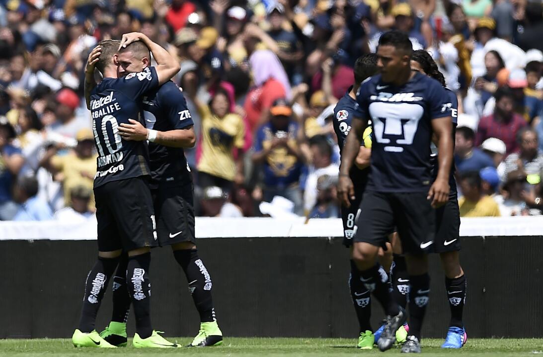 36. Pumas U.N.A.M. (México - Concacaf) / 174 puntos