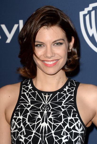 Lauren en una fiesta tras los Golden Globes, en enero de 2014. Mira aqu&...