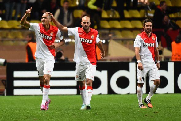 Mónaco cerró con triunfo de 2-0 ante Zenit St. Petersburgo.