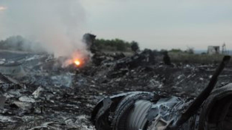 La aeronave de Malaysia Airlines se estrelló con 298 personas abordo.