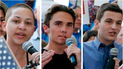 Sobrevivientes y activistas de la escuela de Parkland Florida: Emma Gonz...