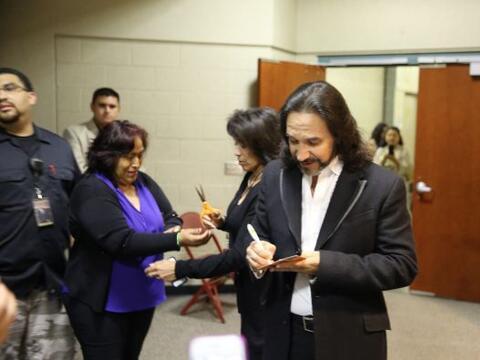 Marco Antonio Solis se presentó en L.A. y los radio escuchas de M...