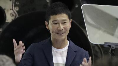 SpaceX anuncia que el multimillonario japonés Yusaku Maezawa será el primer turista que viajará a la Luna