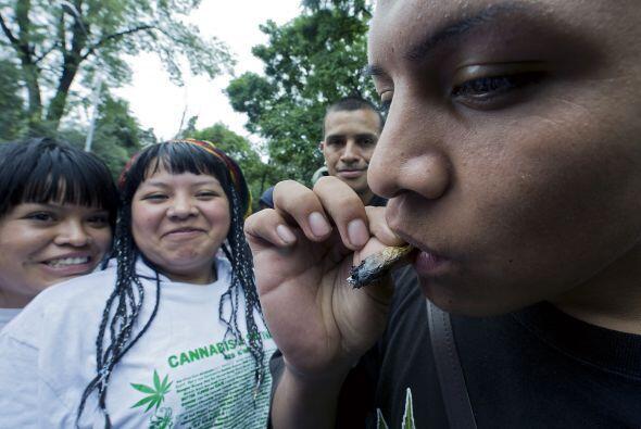 Argumentan que si se legalizan las drogas, el consumo va a disminuir.