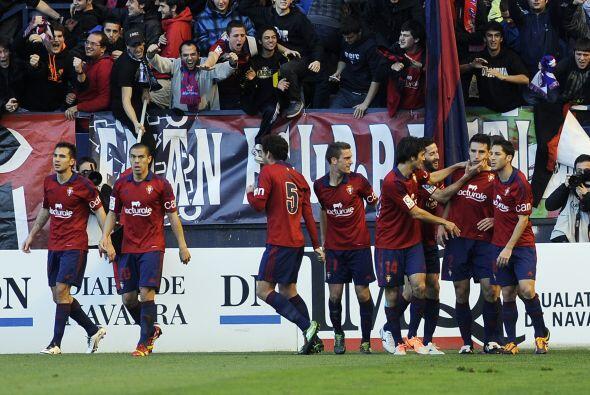 Osasuna había avisado con un mano a mano de Roberto Torres al 13...